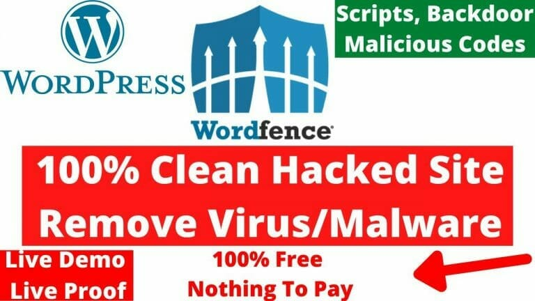How To Remove Malware/Virus From Hacked WordPress Site & Backdoor PHP Proven Method Part 2